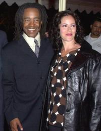 Tim Meadows and his wife Michelle at the premiere of
