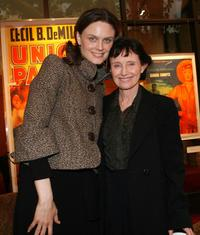 Emily Deschanel and her mother Mary Jo Deschanel at the screening of