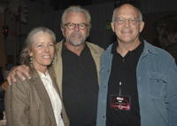 William Devane, Max Gail and Guest at the ABC Winter Press Tour All Star Party.