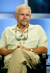 William Devane at the panel discussion for