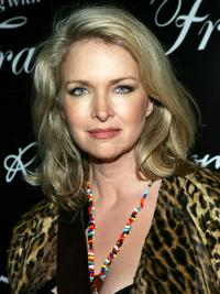 Donna Dixon at the premiere of the new TV series 'Living With Fran'.