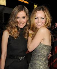 Rose Byrne and Leslie Mann at the California premiere of