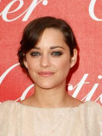 Marion Cotillard at the 2008 Palm Springs International Film Festival Awards Gala.