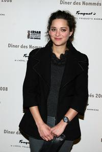 Marion Cotillard at the Cesar Awards nominee dinner.