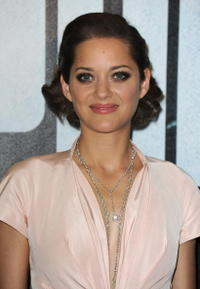 Marion Cotillard at the premiere of