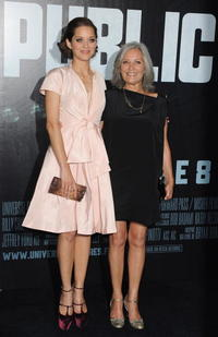 Marion Cotillard and Niseema Theillaud at the premiere of