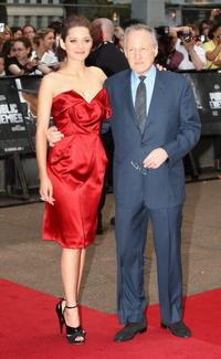 Marion Cotillard and Director Michael Mann at the European premiere of