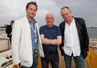 Director Jim Sheridan, Liam Cunningham and Guest at the Irish Pavillion Party during the 61st International Cannes Film Festival.