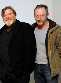 Brendan Gleeson and Liam Cunningham at the 2011 Sundance Film Festival.