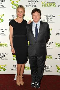 Cameron Diaz and Mike Myers at the New York premiere of