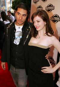 James Duval and Rose McGowan at the 23rd Annual Los Angeles Gay and Lesbian Film Festival.
