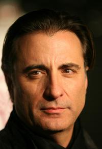 Andy Garcia at the Hollywood premiere of