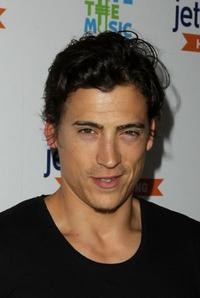 Andrew Keegan at the Jetblue Celebrates Nonstop Service From LA To Boston And New York.