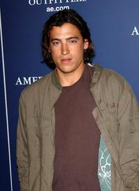 Andrew Keegan at the AE Jeans Will Rock You Campaign.