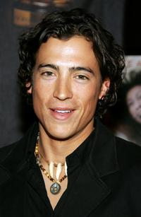 Andrew Keegan at the world premiere of