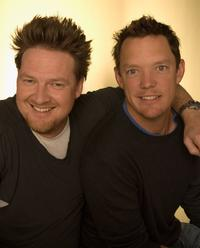 Donal Logue and Matthew Lillard at the Tribeca Grand Hotel during the 5th Annual Tribeca Film Festival.