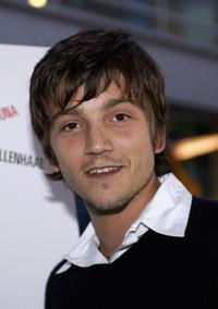 Diego Luna at the premiere of