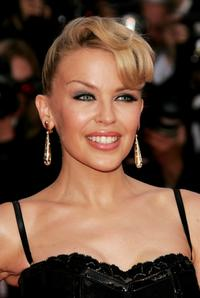 Kylie Minogue at the premiere of