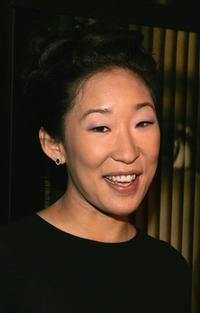 Sandra Oh at the premiere of