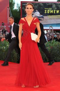 Natalie Portman at the Italy premiere of