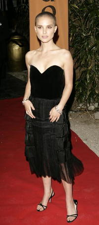 "Natalie Portman at the ""Star Wars III: Revenge of the Sith"" screening after party in Cannes, France."