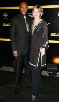Colin Salmon at the premiere of