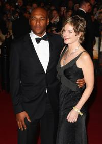 Colin Salmon and Hawthorne at the Royal world premiere of