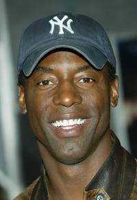 Isaiah Washington at the premiere of Touchstone Pictures and Imagine Entertainment's