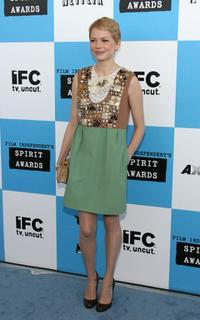 Michelle Williams at the Film Independent's 2006 Independent Spirit Awards.