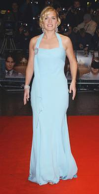 Kate Winslet at the UK charity premiere of