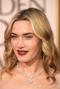 Kate Winslet at the 64th Annual Golden Globe Awards.