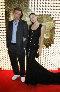 Vincent Cassel and Monica Bellucci at the D&G Cannes party.