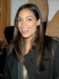 Rosario Dawson at the New York premiere of