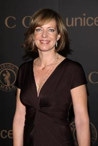 Allison Janney at the reception to benefit UNICEF during Mercedes-Benz Fashion Week Fall 2008.