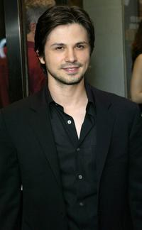 Freddy Rodriguez at the opening night of