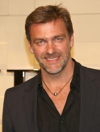 Ray Stevenson at the grand re-opening of Burberry Beverly Hills store.