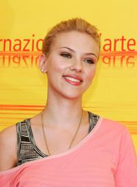 Scarlett Johansson at the photocall of