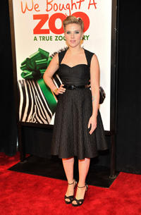 Scarlett Johansson at the New York premiere of