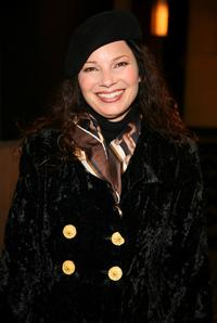 Fran Drescher at the private screening of