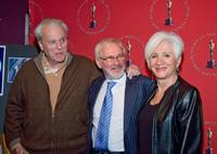 Olympia Dukakis, William Goldman and Norman Jewison at the Monday Nights With Oscar 20th Anniversary of 'Moonstruck.