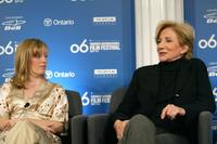 Olympia Dukakis and Sarah Polley at the Away From Her press conference during the Toronto International Film Festival.