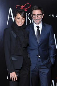 Berenice Bejo and Michel Hazanavicius at the New York premiere of
