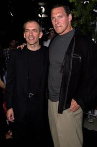 Tomas Arana and Ralf Moeller at the premiere of