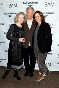 Lindsay Duncan, Alan Rickman and Fiona Shaw at the after party of John Gabriel Borkman in New York.