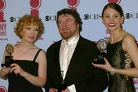 Lindsay Duncan, Sutton Foster and Alan Bates at the 56th Annual Tony Awards at Radio City Music Hall, New York City.