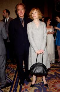 Alan Rickman and Lindsay Duncan at the 68th Annual Drama League Annual Awards Luncheon.
