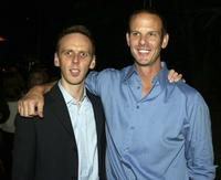 Ewen Bremner and Peter Berg at the after party of