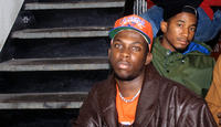 Phife Dawg and Q-Tip in