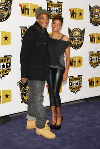 Q-Tip and MC Lyte at the 2008 VH1 Hip Hop Honors.