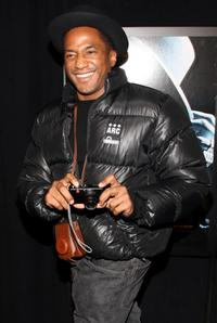 Q-Tip at the premiere of
